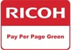 Pay Per Page Green - Ricoh