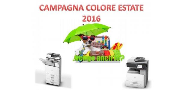 Campagna Colore estate 2016